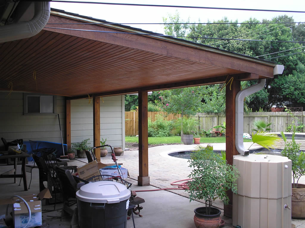 Patio covers austin for Patio roof plans